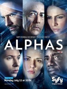 Alphas SyFy, entretenimiento