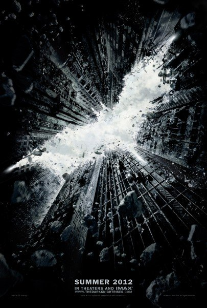 Batman The Dark Knight Rises poster, entretenimiento