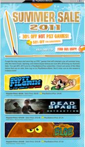 Playstation Summer Sale Entretenimiento