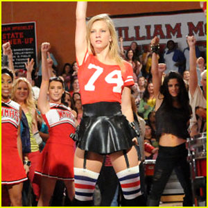 who runs the world glee brittany