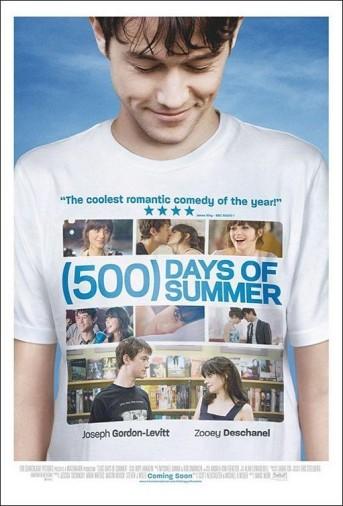 500 Días Juntos Poster
