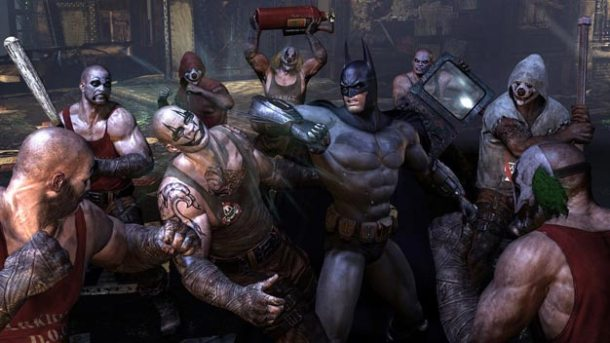 batman arkham city peleas