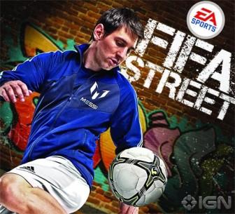 EA Fifa Street 2012 Messi FC Barcelona