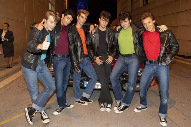 Tbirds Grease Musical Barcelona