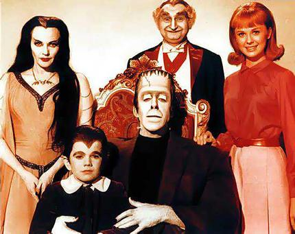 Familia Monsters Hoy Moderno 80s