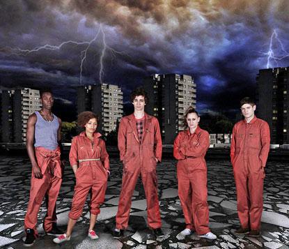misfits serie tv televisión