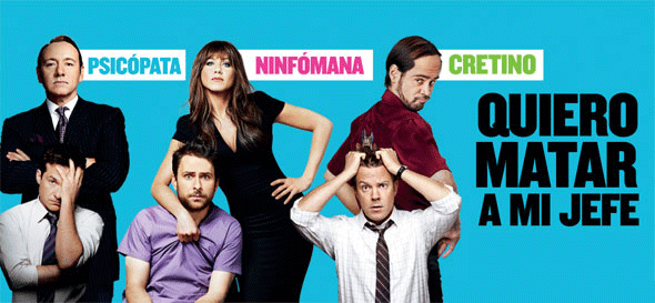 quiero matar a mi jefe horrible bosses poster