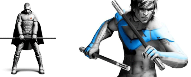 robin nightwing batman arkham city ps3