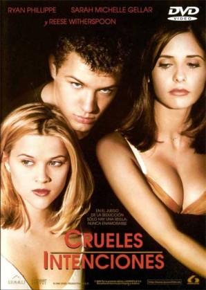 película culto Crueles Intenciones películas de los 90s