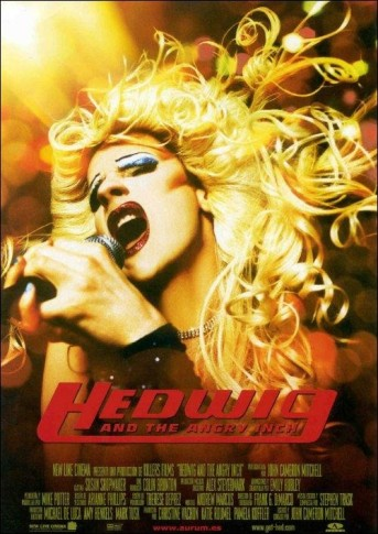 musical rock hedwig and the angry inch poster