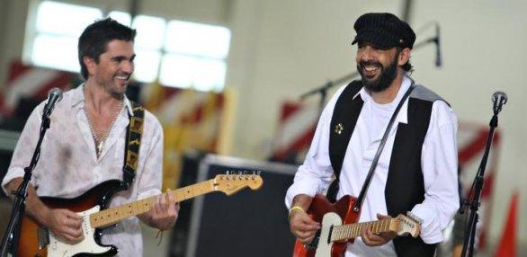juan luis guerra y juanes la calle música latina