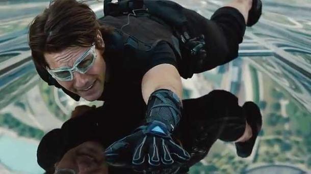 Tom Cruise misión imposible dubai