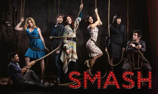 elenco Smash nbc serie televisión musical