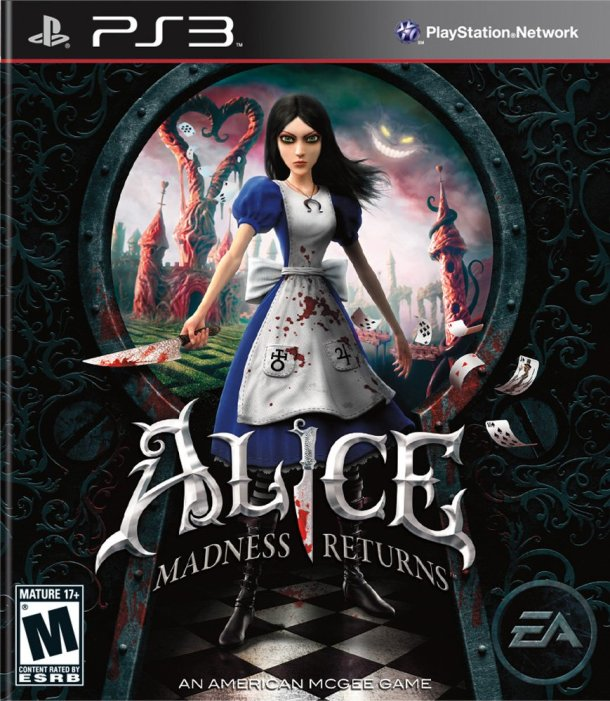alice madness return video juego cover ps3
