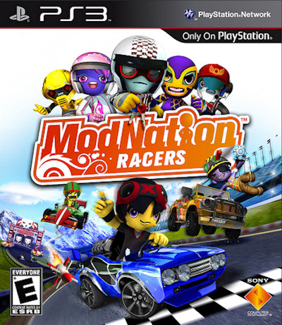 video juego ModNation Racers