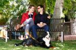 pareja gay televisión the new normal